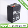 6v4.2ah maintainence free rechargeable ups battery for power supply
