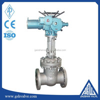 electric actuated steam gate valve