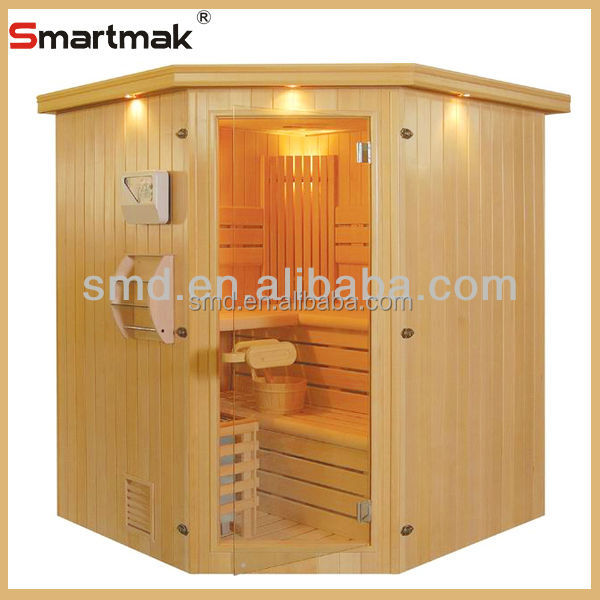 Computer Control Panel Feature and Dry Steam Function sauna/2014 high quality luxury traditional steam sauna room