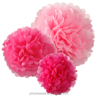 Tissue paper pom poms for wedding decoration,home decoration.holiday decoration
