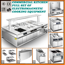 restaurant kitchen equipment Independently developed catering equipment high power induction cooker