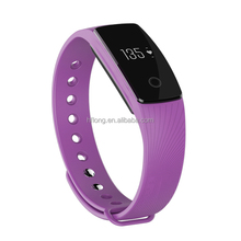 ID107 Heart Rate Smart Bracelet Wristband Bluetooth 4.0 fitness Tracker