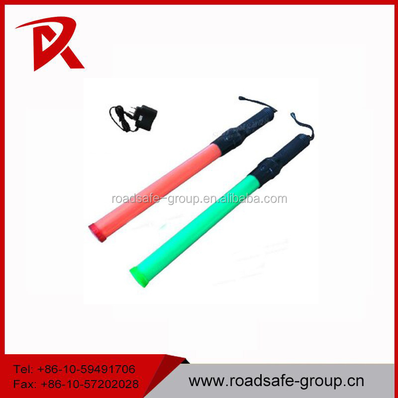 red and green baton