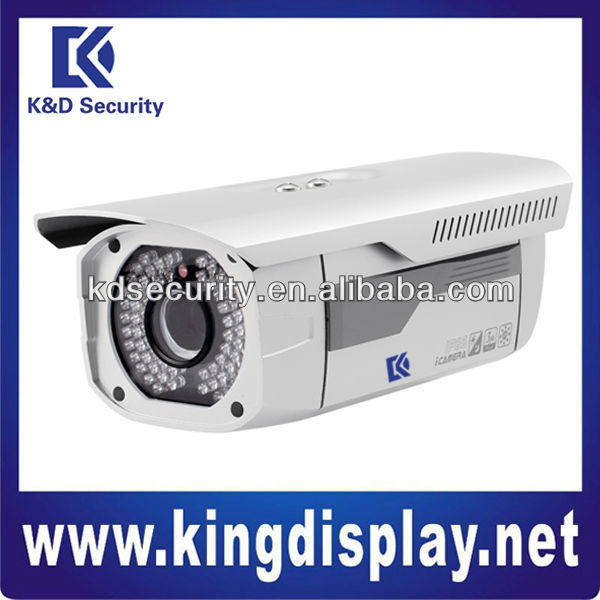 True Day and Night 3Megapixel Full HD Embedded Water-proof IR Network Camera