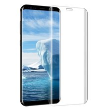 3D Curved Full Cover tempered glass Screen Protector For Samsung smartphone, mobile phone Tempered Glass For Samsung S8 S8plus