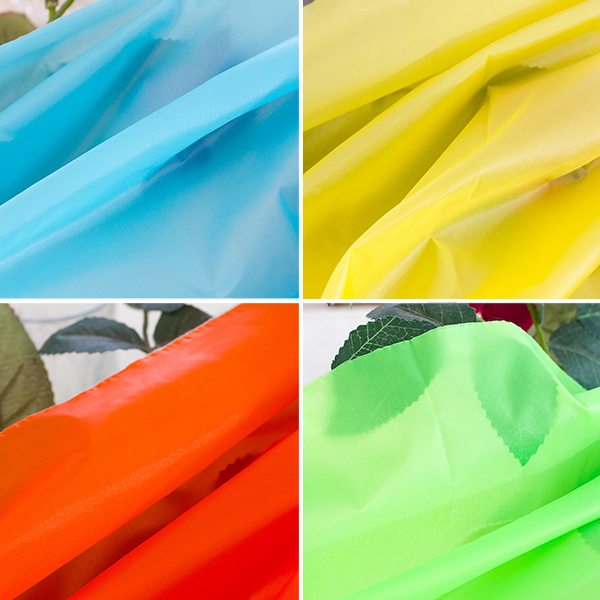 Spandex Polyester 380t thin down jacket nylon fabric