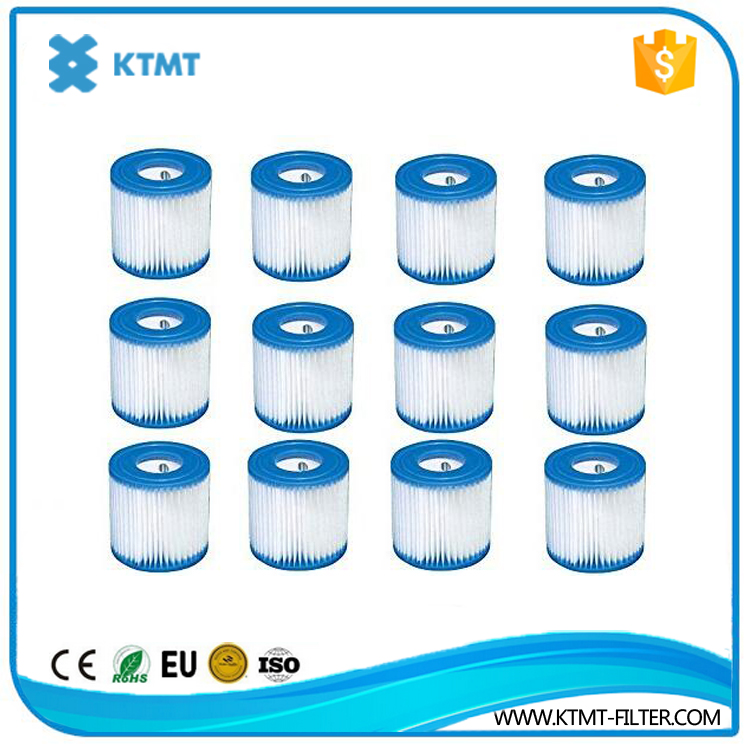 Swimming Pool Filter Cartridge For Water Filtration System Pool Pump And Cartridge Filter