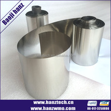 Medical grade 5 titanium foil price