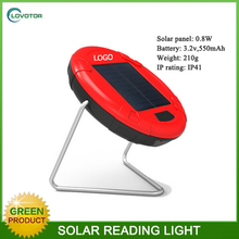 Solar powered lamp shades clamp desk light reading desk lamps