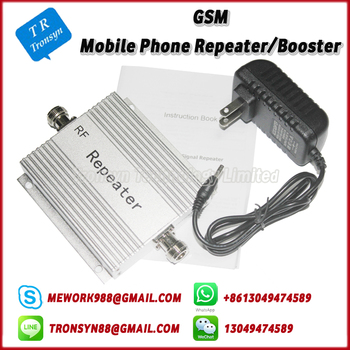 New Arrival Cell Phone GSM Signal Repeater Support GSM 900Mhz And Mobile Signal Repeater