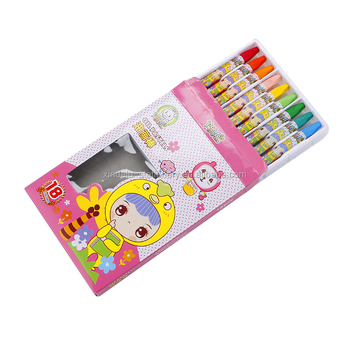18 colors non toxic oil pastel for children gift