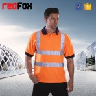 wholesale 100 polyester safety reflective men s polo shirt