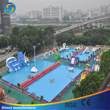 China swimming pool equipment, swimming pool play equipment, large inflatable pool