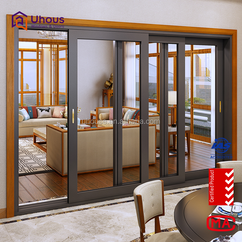 Aluminium sliding door design windows and doors manufacturer with low price and high quality