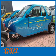 electric power motor tricycle with cabin for passenger taxi rent lower price best quality