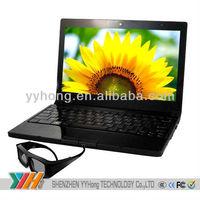 2014 Newest 3D Laptop 17 Inch 500GB oem logo laptop