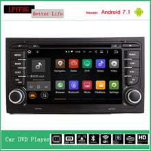 android 7 inch car dvd player for audi a4 q5 car dvd gps navigation audio video a/v system zabudowa car audio for audi a4 b5