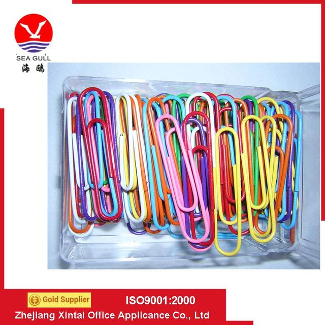 Hot sell different kinds of shape triangle boat cheap paper clip