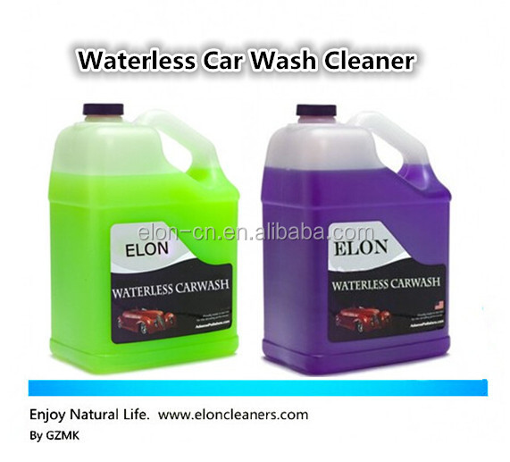 best car care products liquid waterless detergent for cars