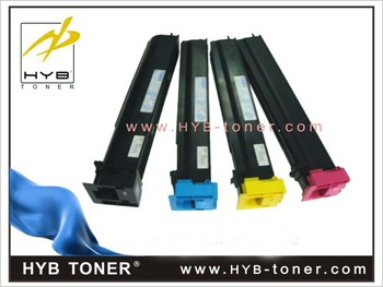 Top quality bizhub C654/C754 color toner cartridge TN711 toner