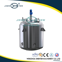 Factory direct supply sand polish stainless steel food reactor
