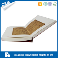 China style softcover perfect binding book full color Chinese Educational Book