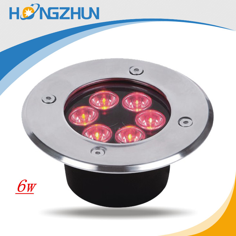 made in china inground led pink 6w 110v220v 12V/24v 100-240VAC