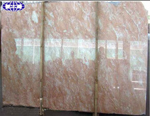 Chinese marble tile rose colored
