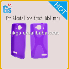 Tpu X Line Case Cover for Alcatel One Touch Idol Mini 6012 6012D