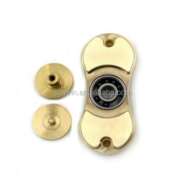 2017 new Brass Fidget Hand Spinner toy Relieve Stress Hand Spinner