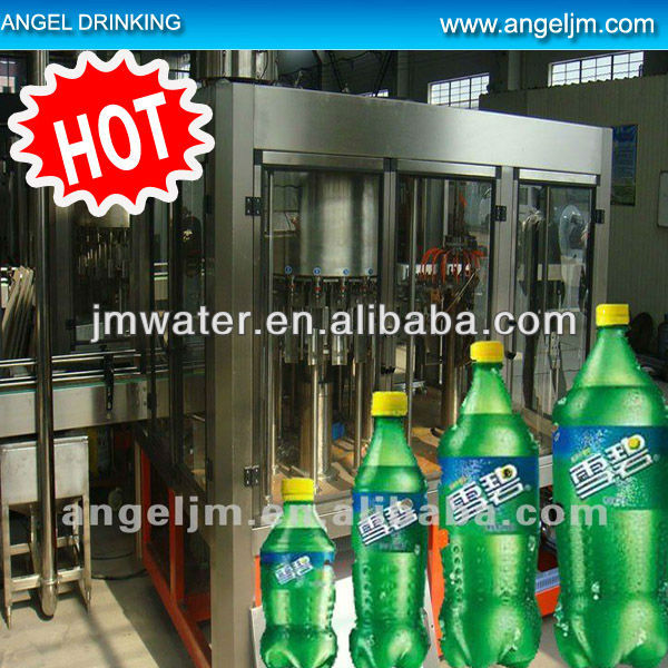 2015 Accurate automatic pet bottle filling machine monoblock