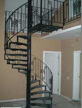 Handicraft Cast iron metal used spiral staircase