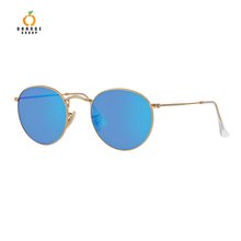 Smoke,Blue,Red,Green,Yellow,Purple,Clear,Brown Lenses Color and Men Age Retro Sunglasses