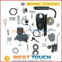 Powerful 2 stroke gas engine 49cc bicycle engine kit engine parts