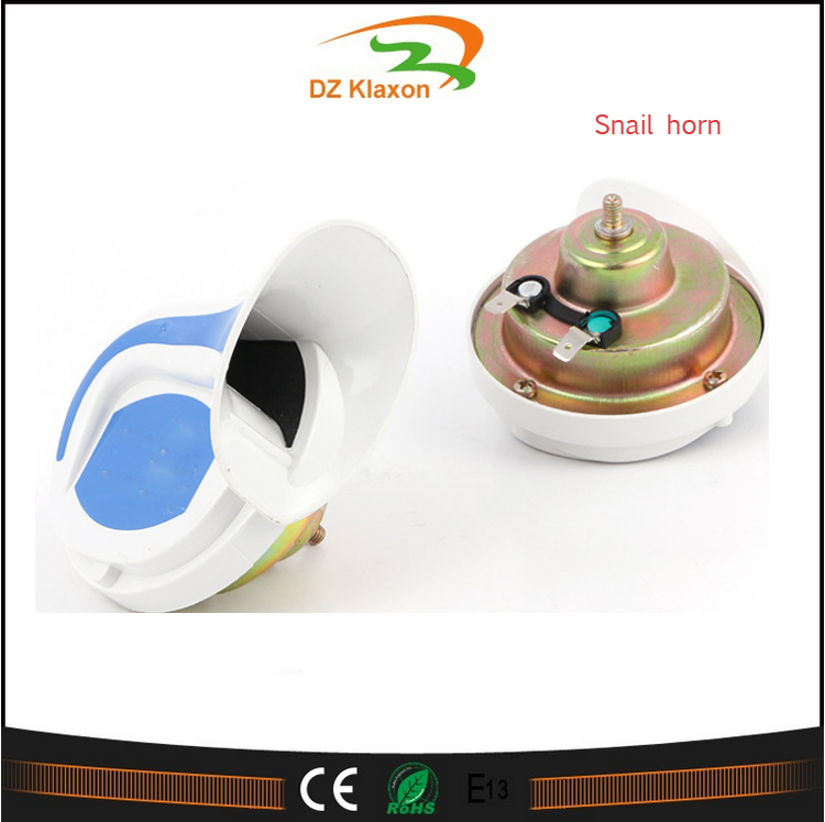 12V Snail Air Horn Vehicle Loud Alarm Kit for Car Motorcycle Van car horn