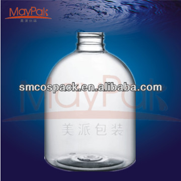 100ml 120ml 200ml round boston ball bottle PET