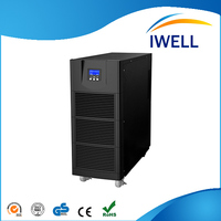 High frequency three phase online electric power supply ups power system for data center