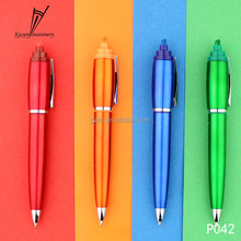 Classic highlighter pen brilliant color for Christmas promotional gift
