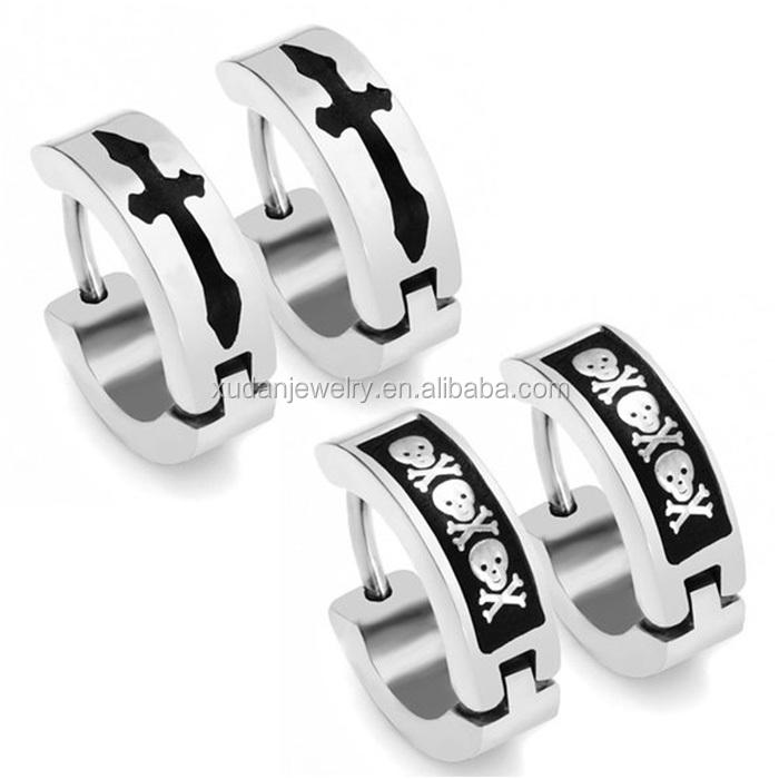 Cross Earrings For Mens Wholesale, Earring For Suppliers - Alibaba