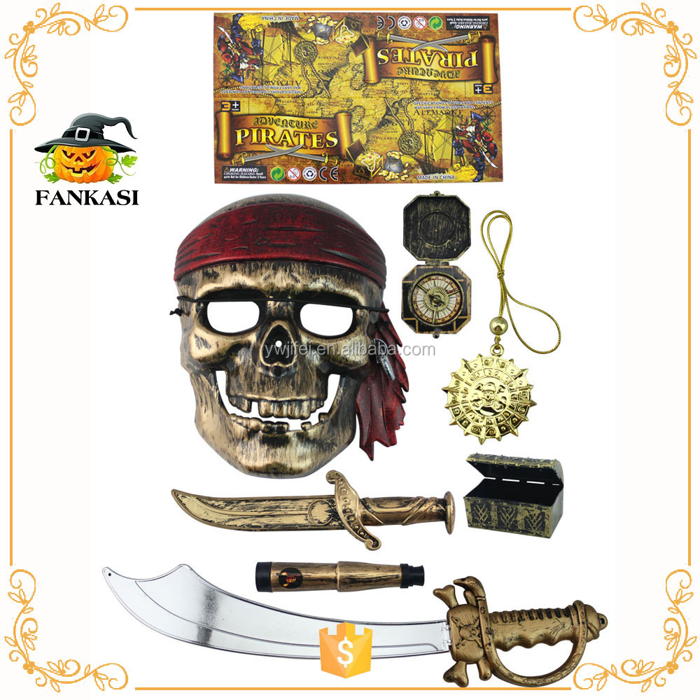 Pirate toys weapons decoration for Party