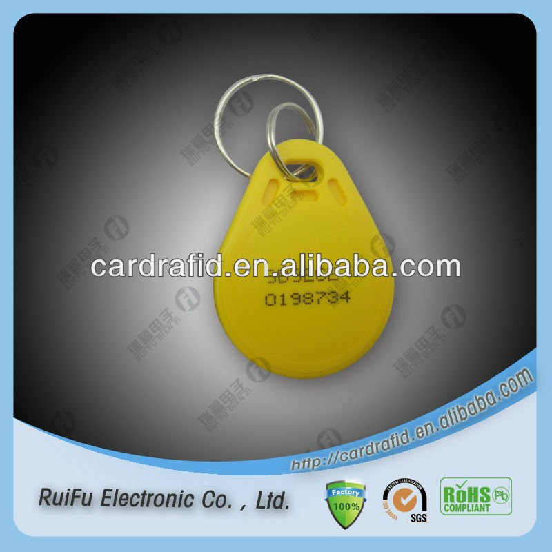 rfid keyfob for employee ids in corporate environm for gyms/club members and fitness centers