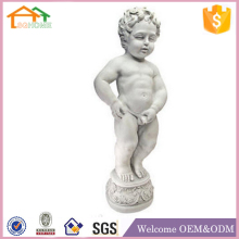 Factory Custom made garden decoration polyresin manneken pis statue
