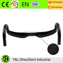 2017 hot selling handle bar 700C carbon fiber handle bar OEM size for road bike in China