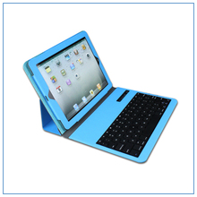 mini Wireless Bluetooth 9.7 inch tablet pc leather keyboard case for Android IOS Windows Systerm