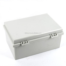 Large storge ABS Material plastic electronic enclosure with 2 latches HPE166