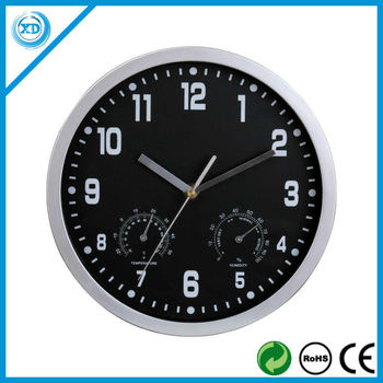 10inch Plastic weather station wall clock