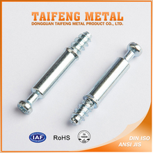 Good Quality White Zinc Plated Furniture Connecting Cam Lock Bolt