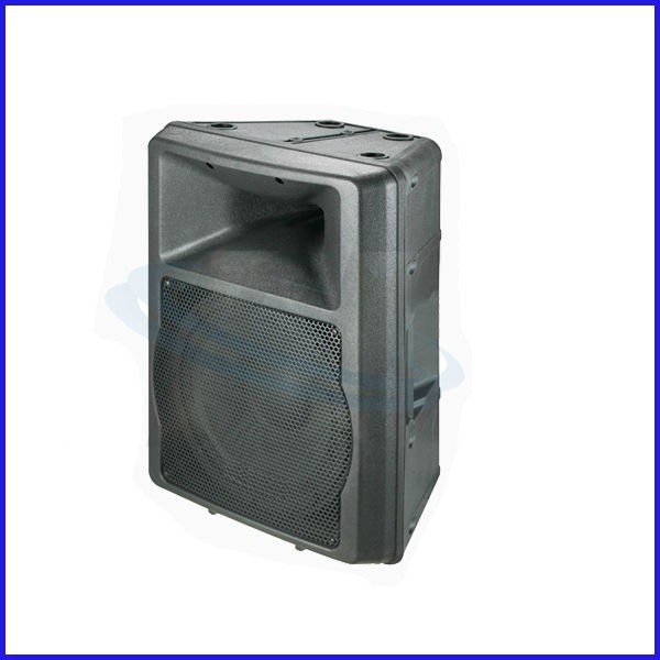 "Professional 10"" portable plastic molded speaker cabinet"