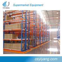 High Quality Industrial Warehouse Storage Push Back Pallet Racking /Industrial Box Pallet Rack/Selective Pallet Racking