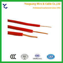 IEC60227 Standard Single Core 0.75mm2 1mm2 PVC Insulated Cable
